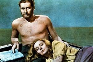 Hitchcock fashion: Lifeboat Starring Tallulah Bankhead and John Hodiak In 1944