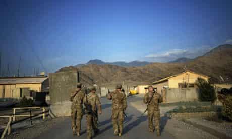 US soldiers in Kuna province, Afghanistan