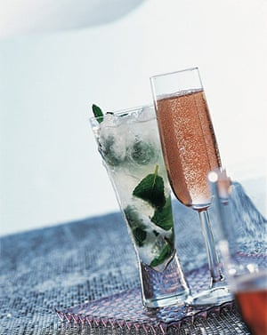 Gatsby cocktails: Champagne julep cocktail