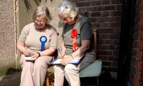 Campaigners in Croydon