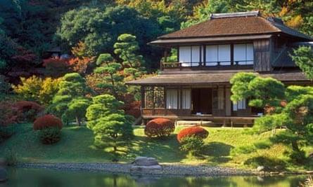 Japanese garden in Yokohama