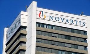 Novartis's headquarters in Basel, Switzerland