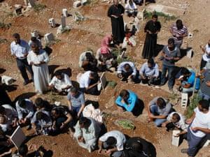 FSA funeral Aleppo Syria