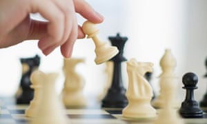 Playing game of chess. Image shot 2010. Exact date unknown.