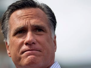 FILE - In this Aug. 20, 2012 file photo, Republican presidential candidate, former Massachusetts Gov. Mitt Romney speaks in Manchester N.H.