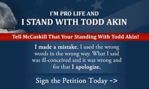 Todd Akin web site