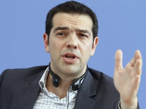 Alexis Tsipras, leader of Greece's Syriza party, in May 2012.