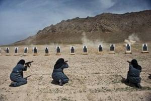 Burqa Afghan policewomen Lynsey Addario