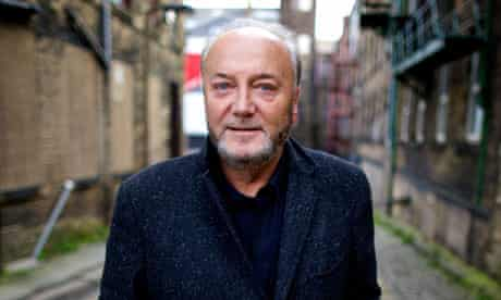 George Galloway, Respect party MP for Bradford West