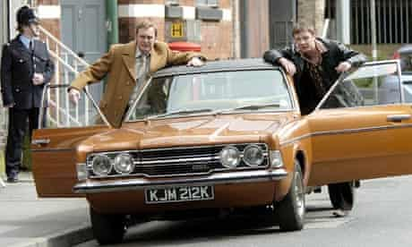 Classic Ford Cortina made famous in BBC drama Life on Mars