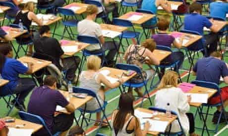 Students have been marked down in their English GCSE's