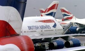 British Airways planes, Heathrow 9/2/2004