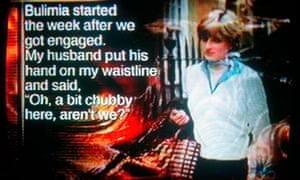 Screengrab from Princess Diana – The Secret Tapes TV programme, March 2004