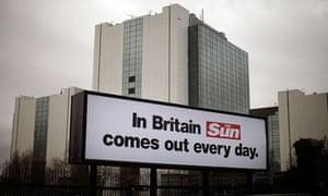 The Sun's headquarters in London