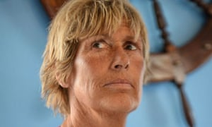 US long-distance swimmer Diana Nyad