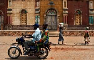 Adolphus: A mosque in Porto Novo, the administrative capital of Benin Republic