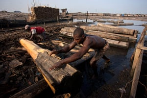 Adolphus: Okobaba saw mill, Lagos