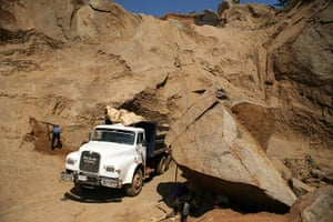 Adolphus: A quarry site in Abuja, Capital of Nigeria
