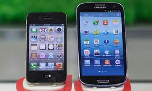 iPhone 4S and Galaxy S III