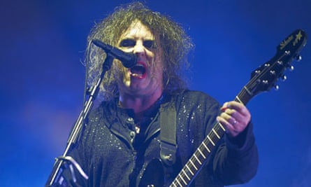 Robert Smith of The Cure at Leeds festival