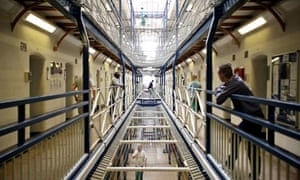 Inmates at Wandsworth prison in London