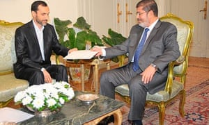 President Mohamed Morsi receives an invitation to Non-Aligned Movement summit in Tehran