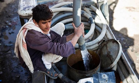 Yemen water pump
