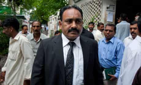 Pakistani lawyer Tahir Naveed Chaudhry