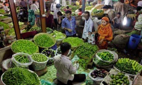 Ahmadabad market, India