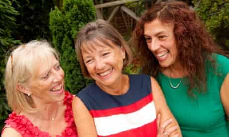 Sue Elliot and sisters