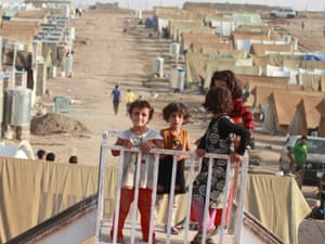 Syria refugees in Iraq