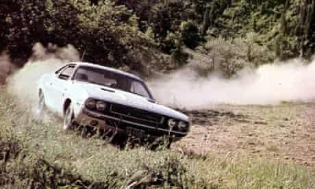 Vanishing Point Dodge Challenger