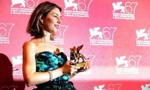 Sofia Coppola at the 2010 Venice film festival