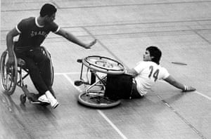 GNM Archive Paralympics: Wheelchair basketball 1983