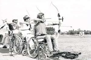 GNM Archive Paralympics: Archery at the Stoke Mandeville Games 1975