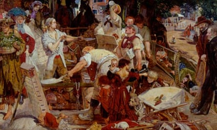 Ford Madox Brown's painting Work (1852-63)