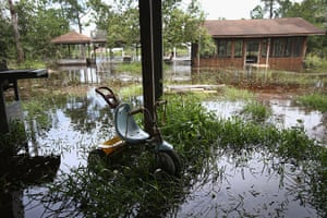 Tropical storm Isaac: Water rises from rising bayeux, flooding properties ahead in Bay St. Louis