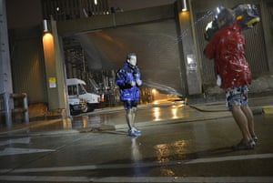 Tropical storm Isaac: A reporter in the rain in New Orleans