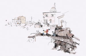 Azaz illustrations: Tanks in Azaz
