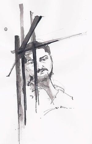 Azaz illustrations: Prisoner in Azaz