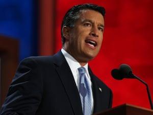 Nevada Governor Brian Sandoval