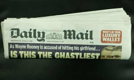 Copy of the Daily Mail newspaper