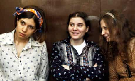 Pussy Riot on trial in Russia