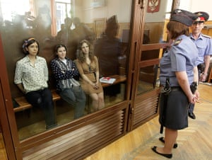 Pussy Riots: Pussy Riot trial in Moscow
