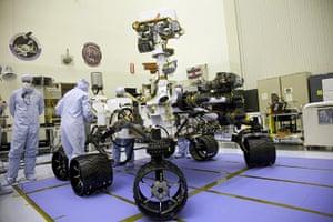 Mars Curiosity rover: Deployment Practice