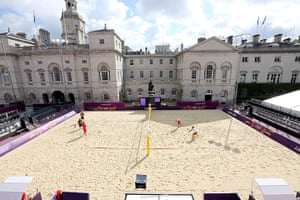 Graeme Volleyball: Horse Guards Parade