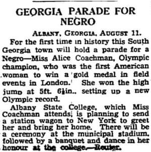 1948 Olympics: Day 15: Alice Coachman makes history