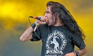Randy Blythe, lead singer of US heavy metal band Lamb of God