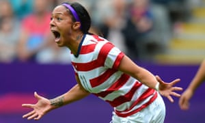 Sydney Leroux celebrates USWNT New Zealand