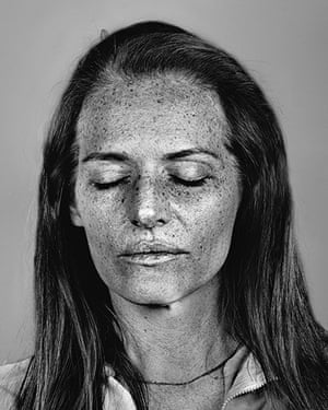 Big Picture: Ultraviolet: Portraits shot using ultraviolet photography to show signs of ageing